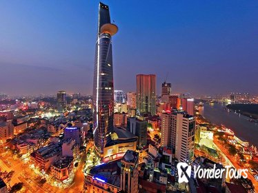 Saigon City Night Tour Including Bitexco Tower Entry and Dinner