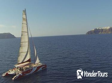 Santorini Sailing Dream Catcher with BBQ Lunch and Drinks