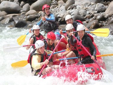 Sarapiqui White Water Rafting from La Fortuna