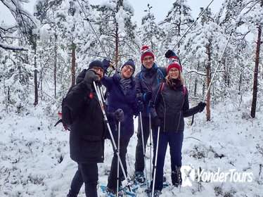 Scenic Snowshoe Hike in Trakai From Vilnius