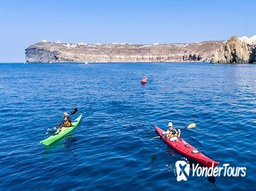 Sea Kayaking Tour in Santorini from Mesa Pigadia