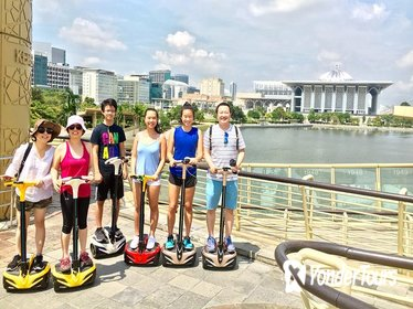 Segway Tour: Guided Eco Ride at Putrajaya 'City in the Garden'