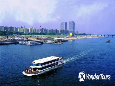 Seoul 4-Hour Afternoon Tour of the Han River Cruise, Aqua Planet 63, and Sky Art