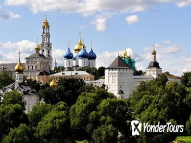 Sergiev Posad Day Trip from Moscow Including Troitse-Sergiev Monastery