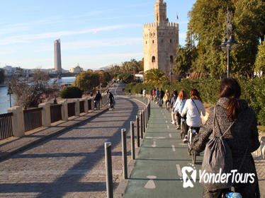 Seville Bike Tour Following the Guadalquivir River