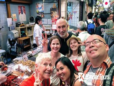 Short Trip in Kyoto Nishiki Market Walking Tour (Small group)