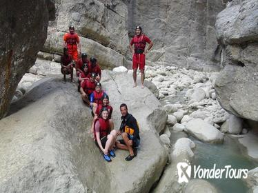 Side Koprulu Rafting and Canyoning Full-Day Adventure with Rope Slide Option