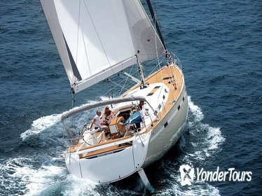 Sightseeing Sailboat Tour from Barcelona
