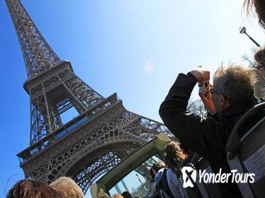 Skip The Line Eiffel Tower Ticket Hop On Hop Off Bus Tour and River Cruise