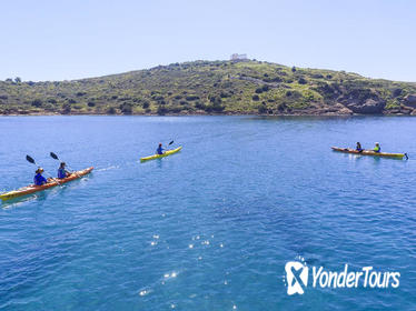 Small-Group Athens Sea Kayak Tour to the Temple of Poseidon
