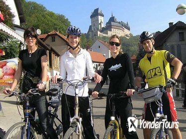 Small-Group Bike Tour to Karlstejn from Prague