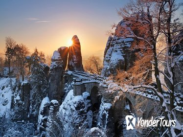 Small-Group Elbe Sandstones Reservation Including Tisa rocks and Bastei Bridge