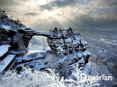 Small-Group Pravcicka Gate & Bastei Bridge Winter Tour from Prague