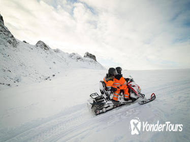 Snowmobiling on Langjökull Glacier with Pickup from Reykjavik