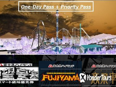 Special Event! Fuji-Q Highland One-Day Pass with Priority Pass 2018 fall season