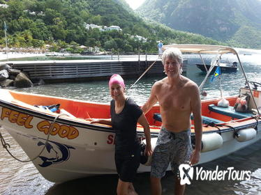 St Lucia Shore Excursion: Land and Sea Adventure