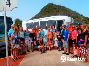 St Maarten Shore Excursion: Island Sightseeing with Shopping
