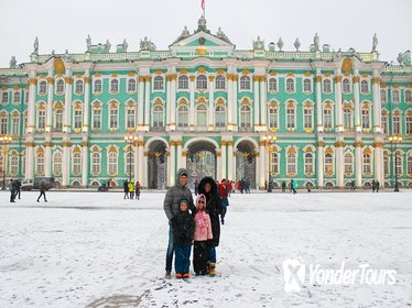 St Petersburg Winter Tour with Hermitage, Catherine Palace and Transfer