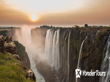 Sunrise Cycle and Guided Walk at Victoria Falls