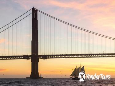 Tall-Ship Sunset Sail on the San Francisco Bay