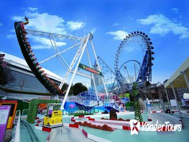 Tokyo Dome City Amusement Park 4 Attraction & TeNQ Space Museum Admission Ticket
