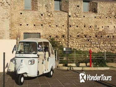 Tuk Tuk tour of Cagliari 4 districts and Castle of San Michele