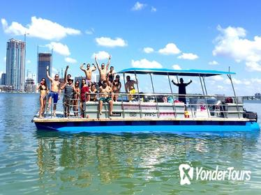 Two Hour Private Party Charter for 16 guests in Miami & Miami Beach