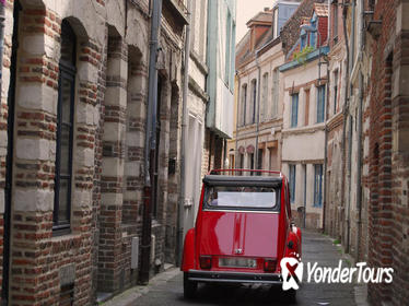 Unique Tour of Lille by Convertible 2CV with Champagne Break