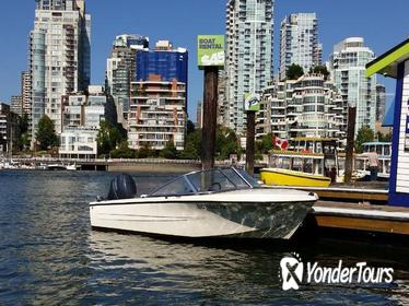 Vancouver Boat Rental for up to 4 People