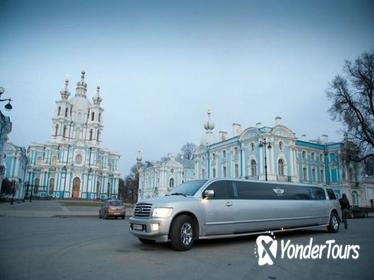 VIP Night Tour in Limo from St Petersburg