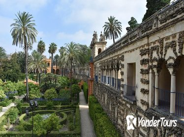 VIP tour into the Alcazar of Seville