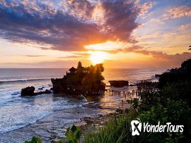 Water fall,Monkey forest and Tanah lot sunset Tour