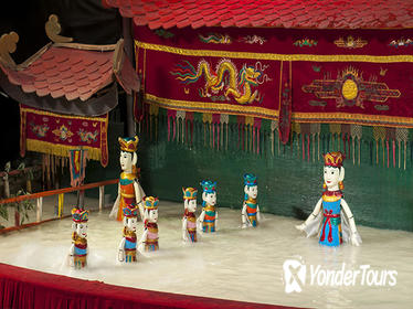 Water Puppet Show Including Dinner from Ho Chi Minh Port