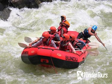 White Water Rafting in Zambia