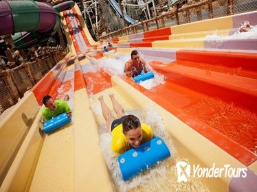 Yas Waterworld Entrance Ticket Including Transport from Dubai