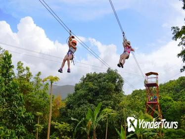 Zipline Canopy Adventure Tour from San Juan