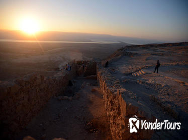 Self Guided Sunrise Masada, Ein Gedi Nature Reserve and Dead Sea Tour from Tel Aviv
