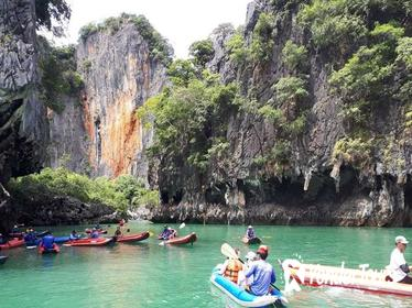 Phuket James Bond Island Full day Tour by Longtail Boat