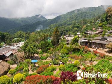 Wat Doi Suthep & Hmong Hill Tribe Village from Chiang Mai
