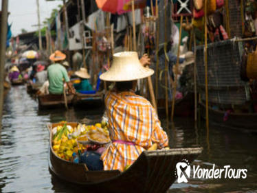 Floating Markets and Bridge on River Kwai Tour from Bangkok