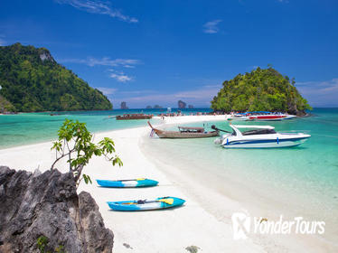 4 Island Speed Boat Tour by Sea Eagle from Krabi including National Park Fees