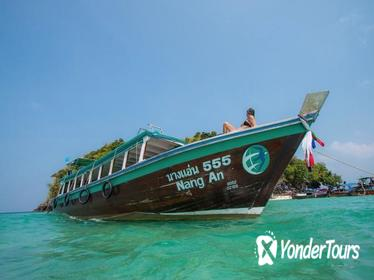 4-Island Tour by Traditional Big Longtail Boat from Krabi