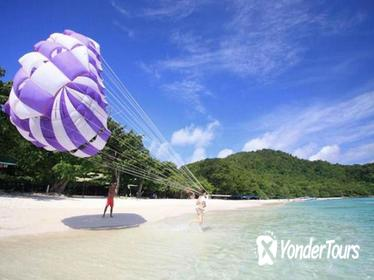 Coral Island Half-day Trip with Lunch & Parasailing from Pattaya