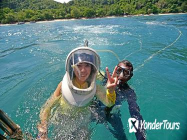 Coral Island Half-day Trip with Lunch & Parasailing & Sea Walking from Pattaya
