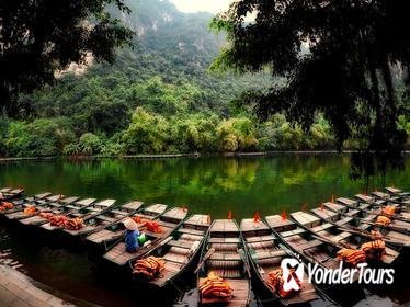 Bai Dinh Pagoda - Trang An Cave Full-Day Join-In Small Group Tour with Lunch