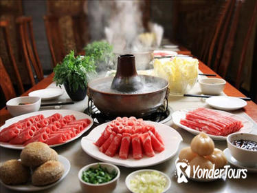 Mongolian Hot Pot Dinner Followed by Houhai Lake Visit and Foot Massage