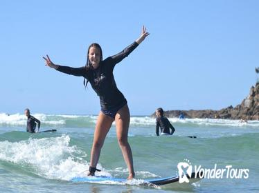 Byron Bay Combo: Minyon Falls and Hinterland Day Trip and Learn to Surf at Byron Bay