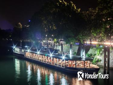 Paris Seine River Christmas Eve Dinner Cruise