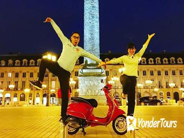 Private Paris by Night Vespa Tour