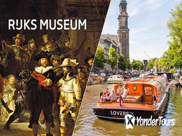 Skip-the-Line Rijksmuseum Amsterdam & 1-Hour Canal Cruise